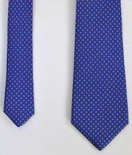 "Kiton Mens Super Recent 7 Fold Handmade Polka Dots Silk Tie 60"" X 3.75"" LIKE N"