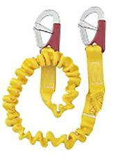 NAUTOS 55984 - SINGLE TETHER - ELASTIC WITH 2 DOUBLE ACTION SECURITY HOOKS