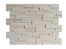 MINT WHITE 3D  N-FORMAT  NATURAL STONE FOR WALLS BACKSPLASH PANEL