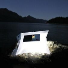 LUMINAID Solar Powered Inflatable Waterproof LED Light Survival Camping Gear
