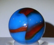 #3961m Vintage Peltier NLR National Line Rainbo Superboy Marble .71 Inches *Mint