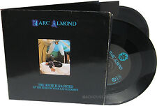 """SOFT CELL 7"""" x 2 Marc ALMOND The House Is Haunted DOUBLE Pack Vinyl Unchain My"""