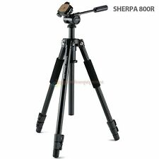 Velbon Sherpa 800R 3-Section Aluminum Tripod with PH-157Q 3-Way Head & QR QB-157