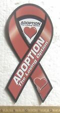 Adoption – The Loving Option - 2 in 1 Magnetic Ribbon