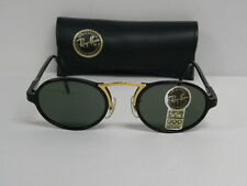 New Vintage B&L Ray Ban Cheyenne Style 3 III Blk W1745 Traditionals Oval USA NOS