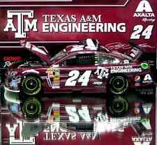 JEFF GORDON 2014 TEXAS A&M / AXALTA 1/24 ACTION NASCAR DIECAST  IN STOCK