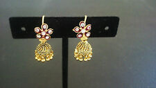Bollywood Earrings Jhumka Ethnic Traditional Indian Jewelry Jhumki Drop Dangle