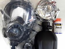 40mm NATO CBRN Gas Mask SGE INFINITY w/Drink System & (2x) CBRN Approved Filters