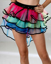 Women Lady Girl Organza Tutu Petticoat 5 Layers Princess Skirt Party Fancy Dress