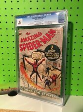 Marvel Comics 1963 The Amazing Spider-Man #1 CGC .5 Poor 1st Chameleon Jameson