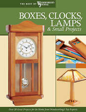 Boxes, Clocks, Lamps, and Small Projects (Best of WWJ): Over 20 Great-ExLibrary