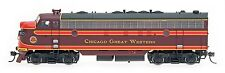 InterMountain HO 49947 Chicago Great Western CGW  FP7 Locomotive DCC Equipped