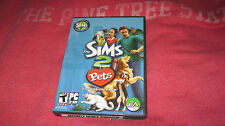 SIMS 2 PETS EXPANSION PACK PC CD ROM VIDEO GAME CASE BOOK KEY COMPLETE