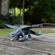 "HOW TO TRAIN YOUR DRAGON 2 TOYS 12"" TOOTHLESS NIGHT FURY ACTION FIGURE"