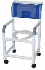 Standard Deluxe PVC Shower Commode Chair!