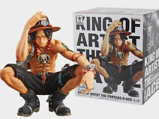 ONE PIECE- D. ACE PORTGAS 16 CM/ANIME FIGURE THE KING OF ARTIST  6,3""