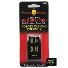 JOHNNY STEWART COYOTE CALLING VOLUME 4 PREYMASTER MEMORY CARD PM-3 & PM-4 MC-CY4