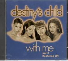 Destiny's Child, With Me (Part 1 - Featuring JD); 5 track Rare PR-CD Single