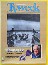 Charles Durning NORMANDY THE GREAT CRUSADE Chicago Tribune TV guide May 29 1994