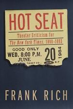 Hot Seat: Theater Criticism for The New York Times, 1980-1993-ExLibrary