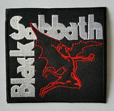 PUNK ROCK HEAVY METAL MUSIC SEW ON / IRON ON PATCH:- BLACK SABBATH (a) DEMON