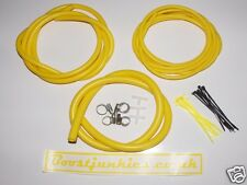 Vauxhall Astra turbo VXR  Vacuum Hose/Engine dress up  kit - YELLOW