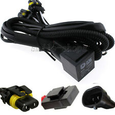 H1 H8 H9 H11 9005 9006 880 881 Relay Wiring Harness Xenon HID Conversion Kit