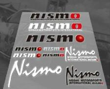 NISMO INTERIOR DASHBOARD NISSAN PVC HD DECAL SET BADGE STICKER EMBLEM LOGO NEW