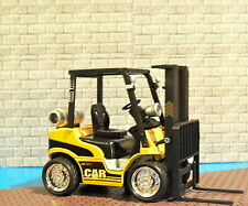 FORK LIFT TRUCK DIECAST ENGINE SOUND/MUSIC/LIGHT FLASHING 1:24 (G)SCALE DIORAMA