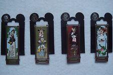 Pin Set 70024-27 DLR - Haunted Mansion Stretching Room Portrait Slider Set of 4
