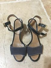 Chloe Women's Wedge Sandals Heels Ankle Strap Size 38.5