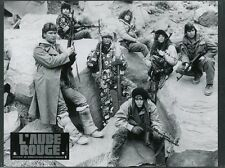 PATRICK SWAYZE CHARLIE SHEEN RED DAWN 1984 VINTAGE PHOTO ORIGINAL #7