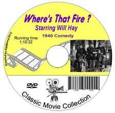 Where's That Fire?  Will Hay- British Comedy Film on DVD 1940