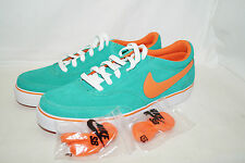 Nike SB ZOOM AIR HARBOR Gr.42,5 UK 8 grün orange Skaterschuhe 316049 381 SAMPLE