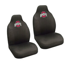 New NCAA Ohio State Buckeyes Universal Fit Car Truck 2 Front Seat Covers Set