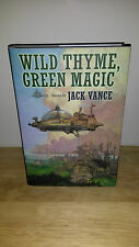 Jack Vance Wild Thyme, Green Magic - First Edition HC - Subterranean Press