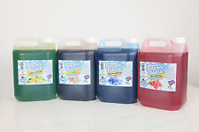 Slush Syrup SnowySlush 8 x 5 ltrs choose your flavours FREE Cups FREE Strawspoon