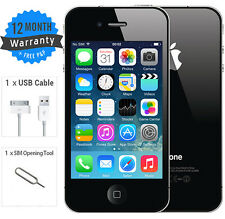 Apple iPhone 4S - 16 GB - Black (EE/Orange/T-Mobile) Smartphone