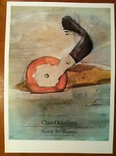 Claes Oldenburg - Seattle Art Museum 1975 Exhibition Poster Modern Art Poster