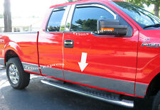 2009-2014 Ford F-150 Super/Extended Cab 6.5'Short Bed No Flare Rocker Panel Trim