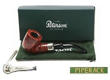 NEW Peterson System Briar Pipe Smooth Finish (301) with Free Pipe Tool (Large)