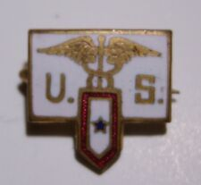"WW1 US Army Medical Corps ""Son In Service"" Sweetheart Pin - AEF"