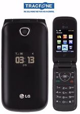 GOOD! LG 430g 430 Camera Bluetooth Dualband GSM Speaker Flip TRACFONE Cell Phone