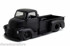 JADA 1952 CHEVROLET COE PICKUP TRUCK MATT BLACK  1/24 DIECAST CAR 97461