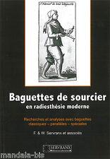Baguettes de Sourcier en Radiesthésie Moderne - Servranx et Associés