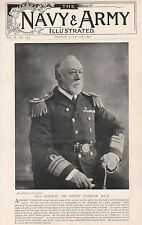 1896 MILITARY PRINT : VICE ADMIRAL SIR HENRY FAIRFAX KCB