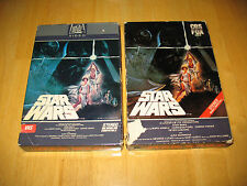 '82 20th Century Fox Star Wars Drawer Case (First Release - Big Box) on VHS