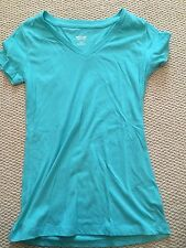 Women's Mossimo T Shirt XS Extra Small Real Blue Used
