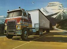 Old Print.  1978 International Transtar II Eagle Truck Ad