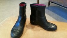 Merrell womens black leather ankle boots size 5
